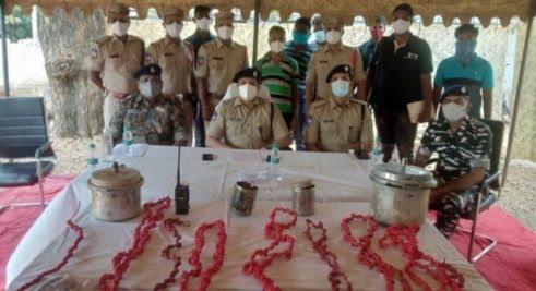 Mulugu: Police arrest Maoist militia member, seize explosive material